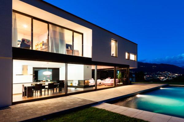 Построить дом стиле модерн