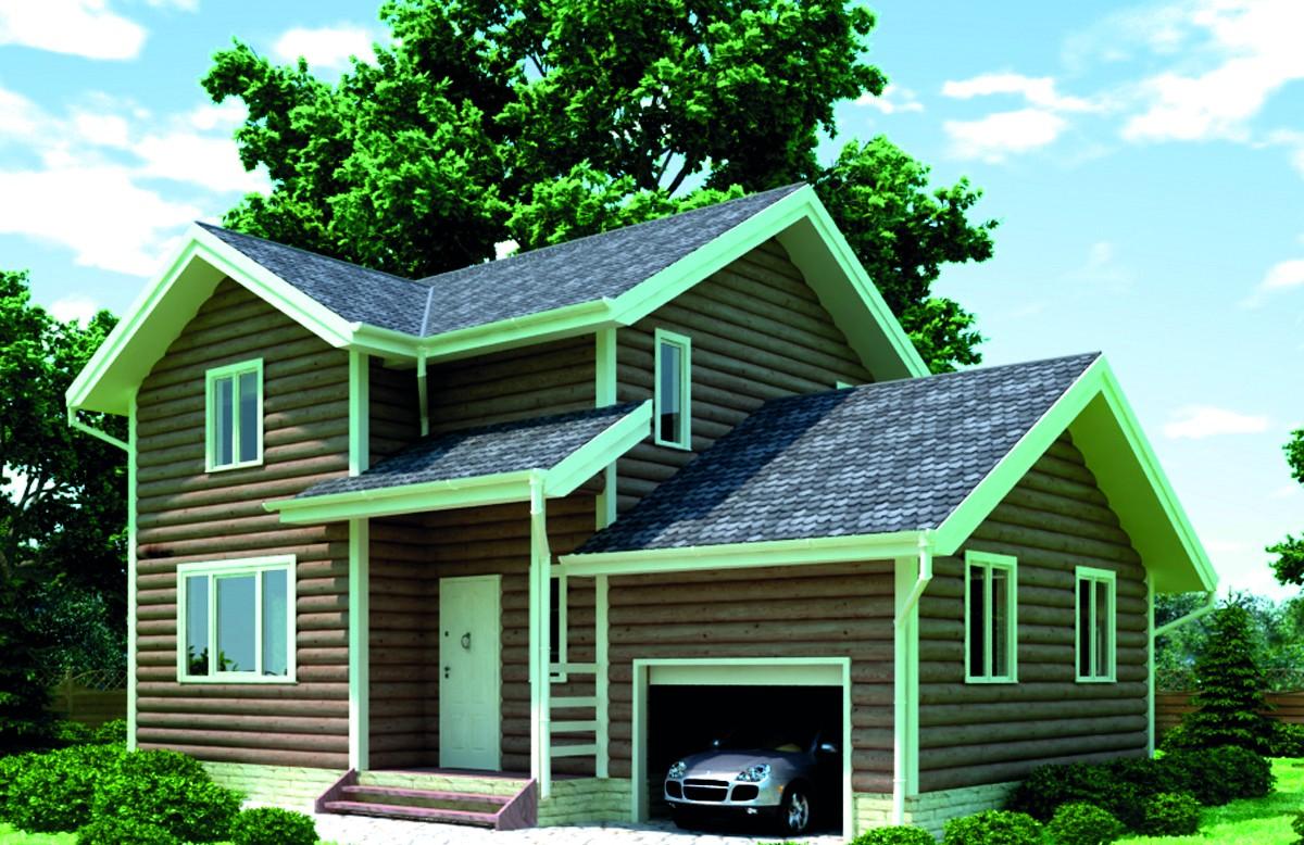 Своими руками строим дом с гаражом